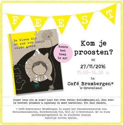 uitnodiging boekpresentatie