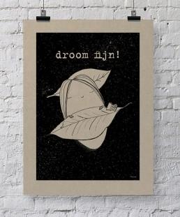 droom fijn grijsboard a2