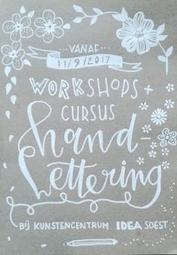 cursus handlettering